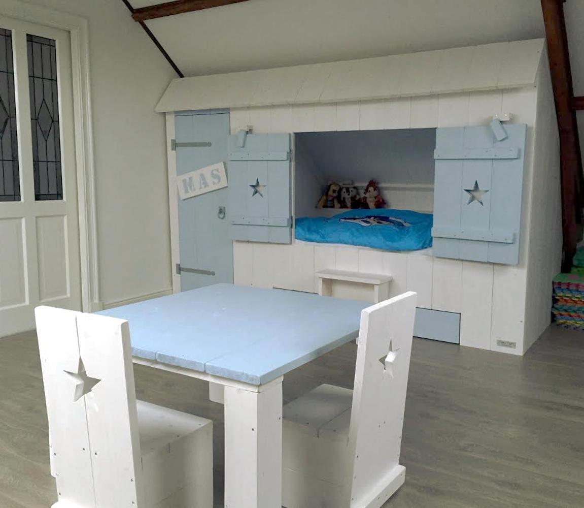 Inbouw bedstee avontuur in elke kinderkamer mura mura - Kamer voor een kind ...