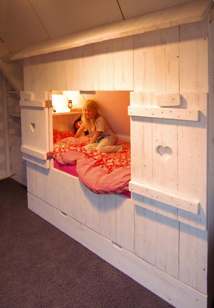 Inbouw bedstee avontuur in elke kinderkamer mura mura - Van de kamer kind ...