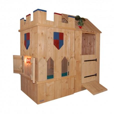 steigerhout bed ridder lancelot