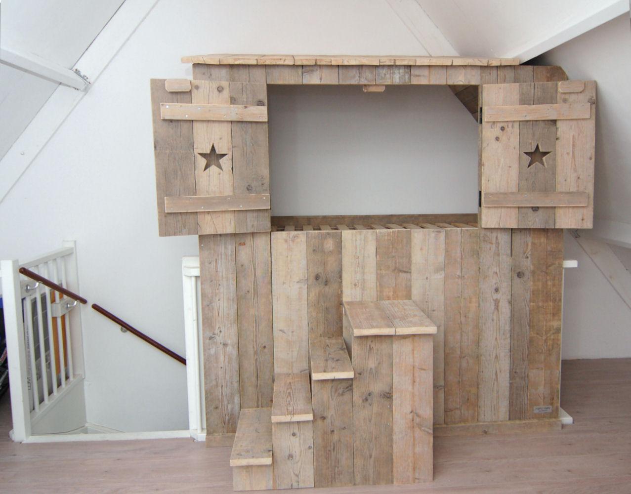 Inbouw bedstee avontuur in elke kinderkamer mura mura for Meubels keukens bedden matrassen banken kasten ikea